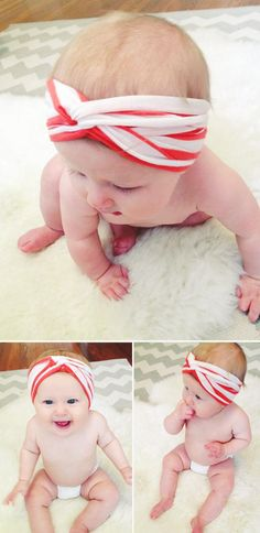 DIY Tutorial DIY Turban Headband / DIY Baby Turban Headband - Bead&Cord