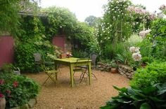 A Garden becomes another room as soon as one adds a chair.
