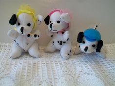 Disney Dalmatian Puppy Stuffed Animal Toys by ALEXLITTLETHINGS