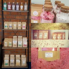 Scent of Life Aromatic Bath Salts  Qld Australia. Hand crafted aromatherapy bath salts for well being