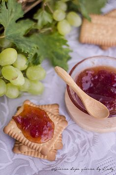 Confettura di uva. Procedimento con e senza Bimby