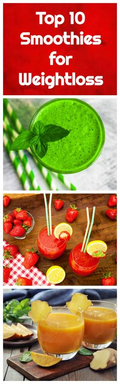 The top ten smoothies for weight loss from All Nutribullet Recipes. These weight loss smoothie recipes cover a variety of flavors and ingredients, so there is a perfect recipe here for everyone.