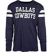 $32--Dallas Cowboys Merchandising Men's Starks Navy Long Sleeve Shirt