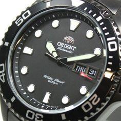 ORIENT Ray Scuba Diver Deep BLACK Herrenuhr Gun color FEM65007B9 UHREN Automatik Herren