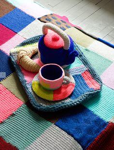 DIY Tea Set - crochet