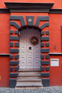 Door in German city Stralsund on the Baltic Sea by Tatiana Mirlin via 500px.com