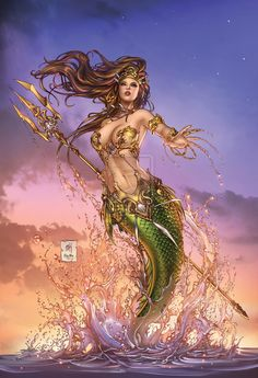 Little Mermaid #5 •Mike Krome