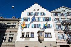 Zurich, Facade Zurich, Switzerland, Facade, Mansions, House Styles, Decor, House, Decoration, Manor Houses
