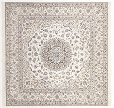 Light Persian carpet