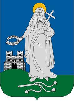 Zalaegerszeg, Adm Center of Zala City Logo, Statue Of Liberty, Disney Characters, Fictional Characters, Aurora Sleeping Beauty, Symbols, Budapest, Badges, Flags