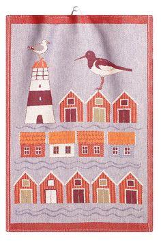 Ekelund Weavers Bathus Tea Towel, 19 x 28 inches
