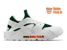 best website 7c3c6 12b15 Nike Air Huarache X Gucci (GS) - Chaussure Nike Custom Pas Cher Pour  Femme/Enfant Blanc/Vert gorge/Rouge sportif 318429-111iD-G