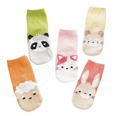 5 Pair/lot Baby Breathable Boys Girls Socks For Children Sock Kawaii Pattern Cotton Kids Socks 7 Kinds Style Suitable For Girls Socks, Baby Socks, Sock Animals, Patterned Socks, Cotton Socks, Boy Or Girl, Stockings, Kawaii, Children