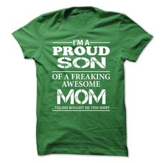 (Deal Tshirt 2 hour) I am a proud son [Teeshirt 2016] Hoodies Tees Shirts