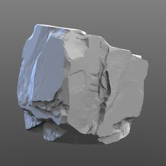ArtStation - High Poly - Rock 3, Justin Owens