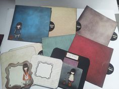 At last I have been well enough to craft! Here are some pictures of the completed Gorjuss Girl Mini album.  I love the Gorjuss Girls, & am i...