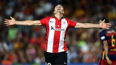 @Athletic Aritz Aduriz marca el gol que sentencia la Supercopa #9ine