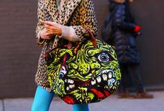 jeremy scott monster bag #beachbag #diy #jeremyscott