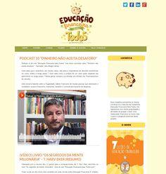 """novo site """"Educação Financeira para Todos"""""""