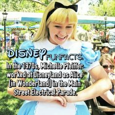 Disneyland fact alice in wonderland Hali Ducote