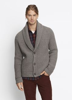 VINCE Wool Double-Breasted Cardigan. #vince #cloth #cardigans ...