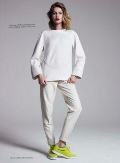 Photo Natalia Vodianova for Harpers Bazaar UK September 2013 by Jean Baptiste Mondino