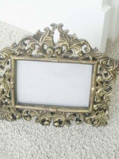 Baroque Picture Frame $20