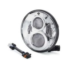 7 in. Daymaker Projector LED Headlamp Chrome - LCS67700265 - LCS Trading, LLC