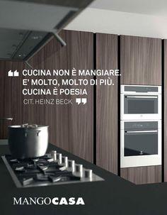 Cucinare non è mangiare. È molto, molto di più. Cucinare è poesia - Heinz Beck