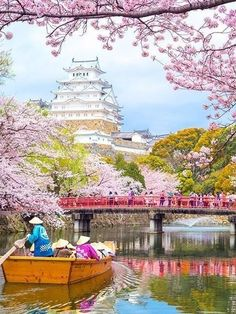 Himeji Castle, Hyogo, Japan - so amazingly beautiful it looks fake! Kumamoto Castle, Himeji Castle, Places To Travel, Places To See, Japanese Castle, Japanese Palace, Japan Travel Tips, Hyogo, Landscape Photography