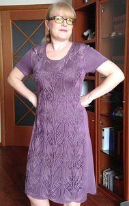 Lace Knitting, Knit Crochet, Knitted Headband Free Pattern, Knitting Projects, Knit Dress, Short Sleeve Dresses, Bohemian, Womens Fashion, Skirts