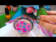 You won't believe how quick and easy it is to dye Easter eggs with nail polish | Rare