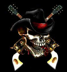 Biker Tattoos, Leo Tattoos, Skull Tattoos, Body Art Tattoos, Funny Horse Pictures, Skull Pictures, Skull Tattoo Flowers, Grim Reaper Art, Deadshot