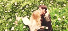 Pin for Later: 21 Times Emma and Hook Were Your Favorite Couple on Once Upon a Time When Their Kiss Puts Twilight's Meadow Scene to Shame
