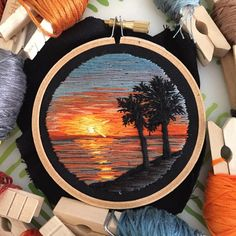 I had so much fun creating this special little scene! If you're interested in a custom landscape hoop or necklace, I will be opening up a few slots later this month! Stay tuned!