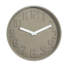 35cm Concrete Wall Clock