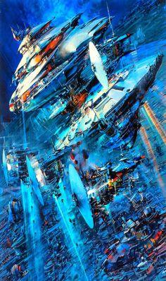 Starship Enterprise ~ John Berkey