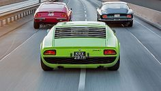 1960s Supercars compared