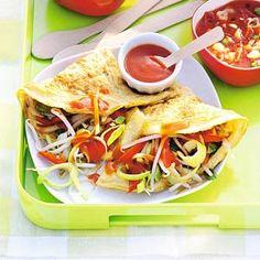 Recept - Chinese omelet met roerbakgroenten - Allerhande