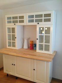 Küchenbuffet selber bauen Ikea