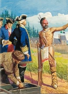 Week 4: OUTSTANDING info and FREE lapbook of Daniel Boone AND the French and Indian War - Tina's Dynamic Homeschool Plus