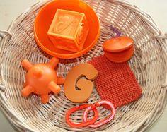 Treasure Basket: Red, Orange, & Yellow | Counting Coconuts