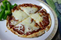 Easy Pita Bread Pizza