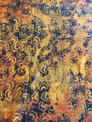 Hand Stamped Batik Fabric Hand Stamped, Accent Decor, Craft Projects, Big, Fabric, Tejido, Tela, Cloths, Fabrics