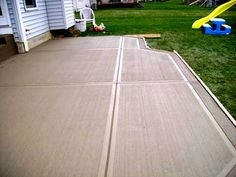 poured concrete patio designs proper construction for a concrete