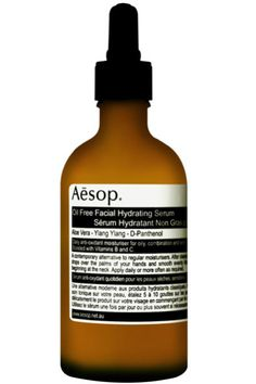 The Aesop Oil Free Facial Hydrating Serum comes in a 100ml bottle and is based on aloe vera. The aim is to boost hydration levels along with vitamin levels, and the serum can be used by those who have combination, sensitive or oily skin. Within this product you will find Pure Northern Australian Aloe Vera Juice