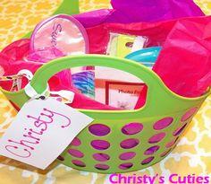 girls night out gift basket