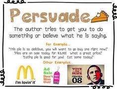 Author's Purpose P.I.E.: adorable anchor charts!!