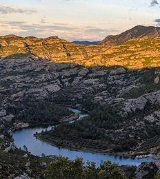 Miradors naturals de la Serra del Montsant (comarca del Priorat, Catalunya)