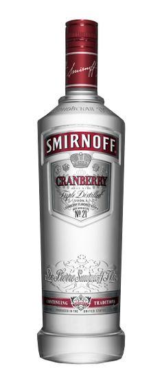 Cranberry vodka   Smirnoff Cranberry Flavor